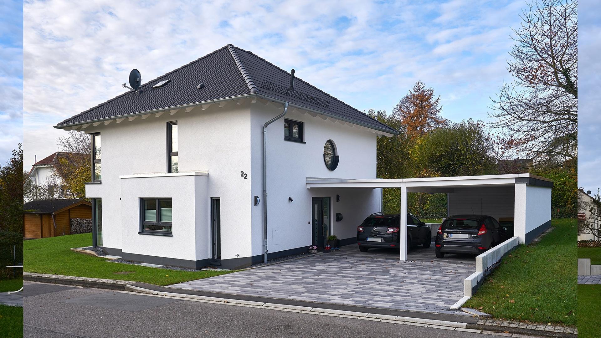 Mit UllrichBau Erhalten Sie Ihr Haus Schlüsselfertig Als Einfamilienhaus  Oder Auch Als Mehrfamilienhaus U2013 Mit Materialien Und Technischen Geräten In  Hoher ...